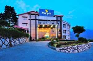 Mapple Hermitage Resort, Bhimtal Night View