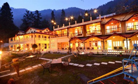 Pavilion Hotel Nainital Night View